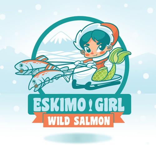 Eskimo Girl Logo