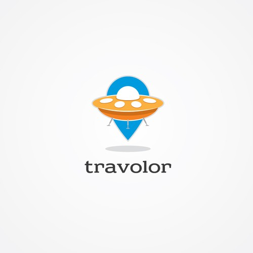 Logo concept for undiscovered travels.