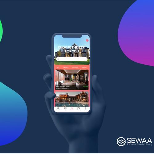 Sewaa App Design