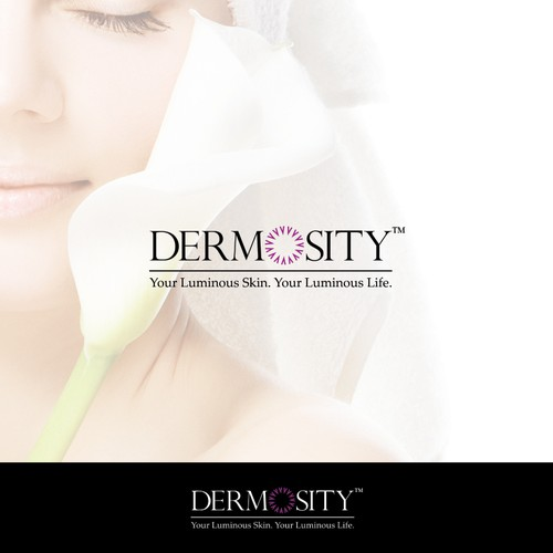Elegant skin care products logo
