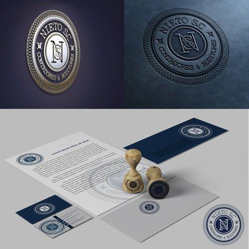 buscando logotipo del despacho Nieto SC