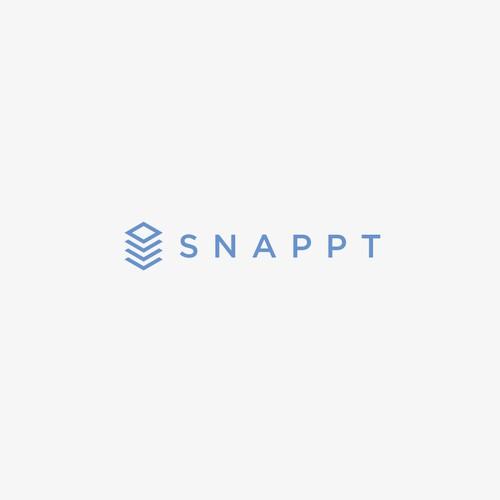 Bold logo for Snappt.