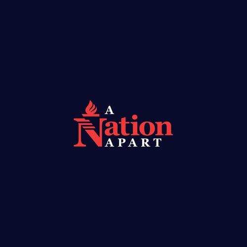 Logo for A Nation Apart.