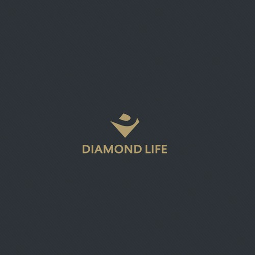 Elegant logo for Diamond life