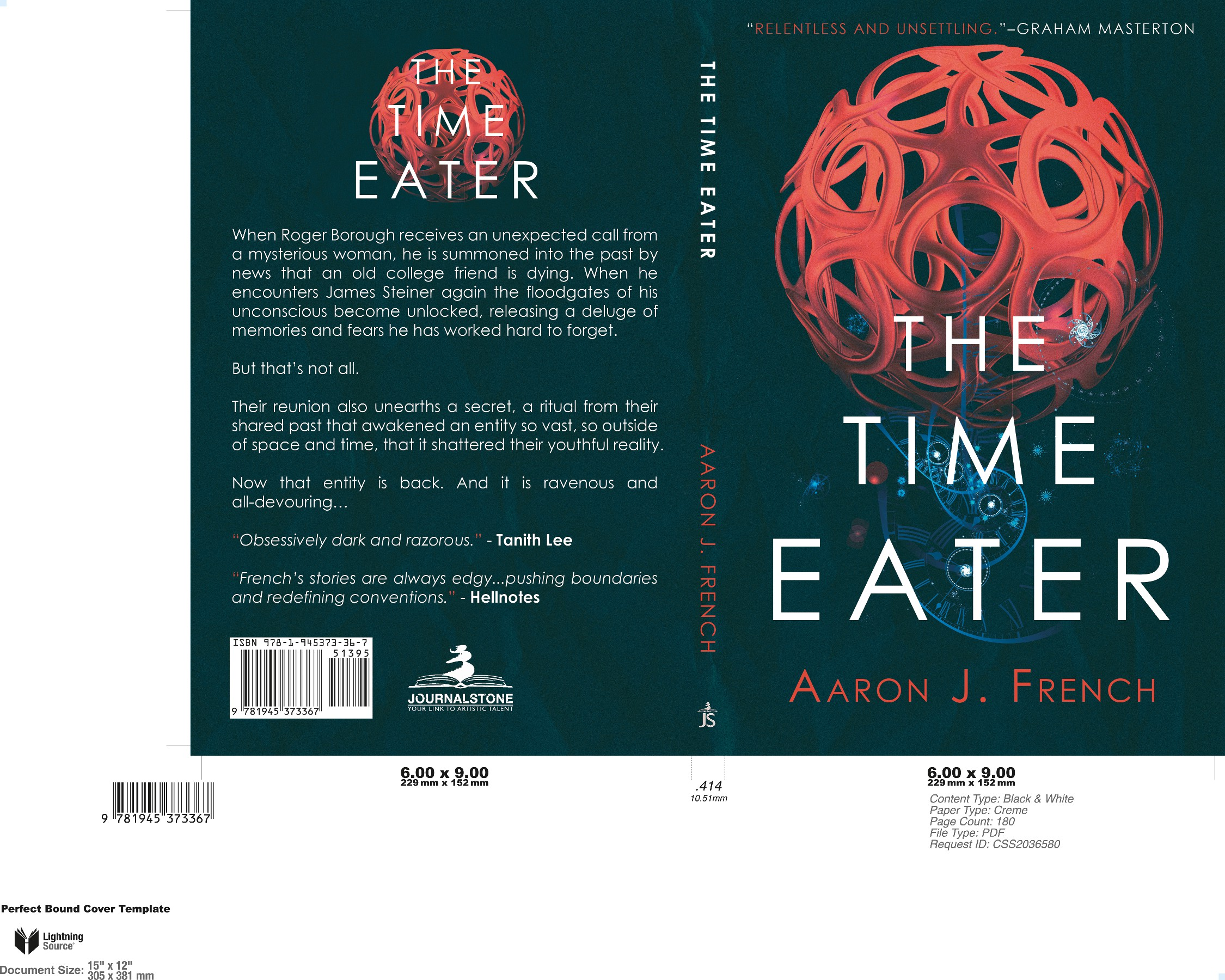 The Time Eater - Lovecraft bookcover