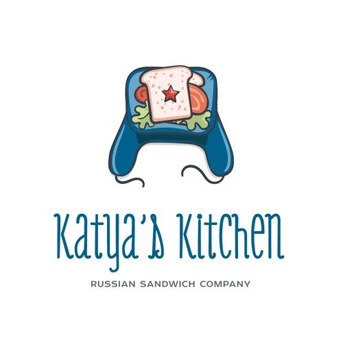 Logo concept for sanwiches sale company