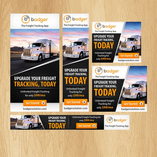 Ad Design for Industry Leading Shipment Tracking App