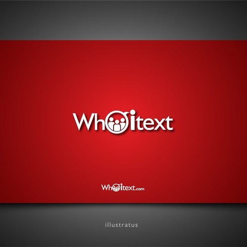Create the next logo for Who I Text