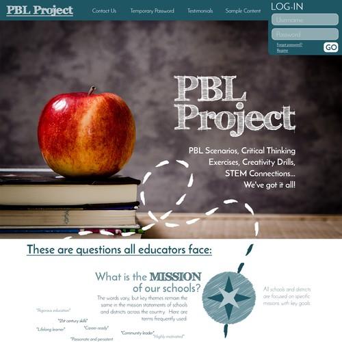 Website for Problem Based Learning