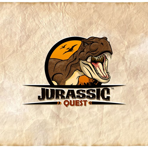 Help Jurassic Quest with a new logo