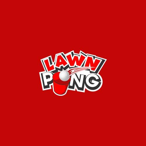 LAWN PONG GAME LOGO