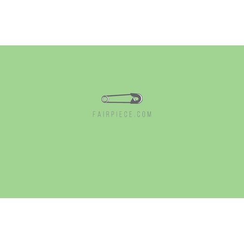 Logo-Design for FairPiece.com - the crowdfunding fashion brand