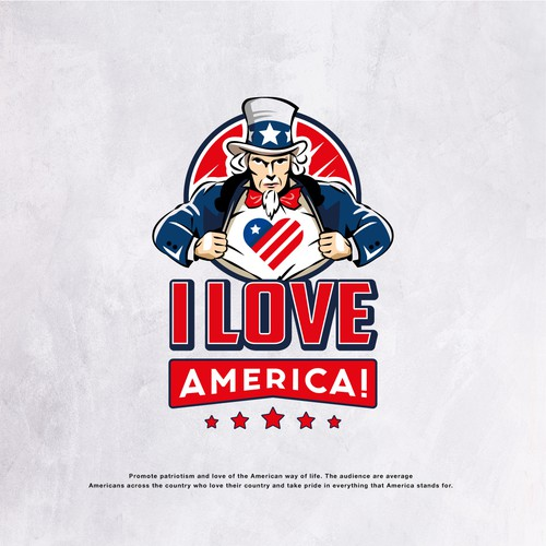 Proud of America Campaign Logo
