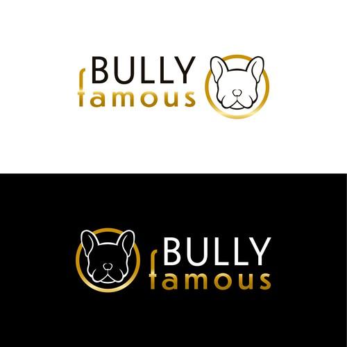 Logo concept for a Frenchie/English bulldog breeder