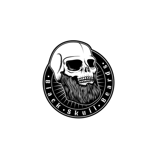 Logo for Black Skull Beard Company