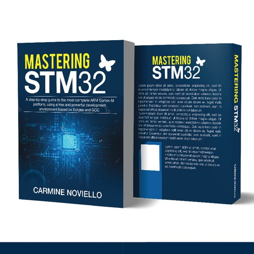 "A cover for my book: ""Mastering STM32"""