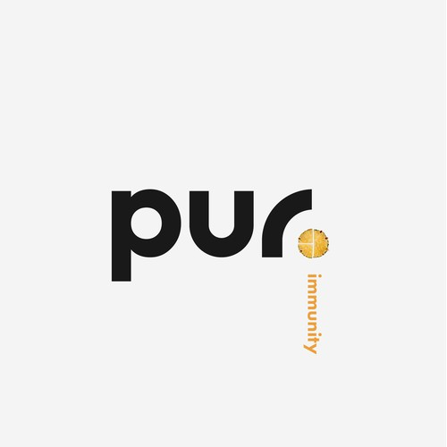 Modern logo for a food/drink health brand