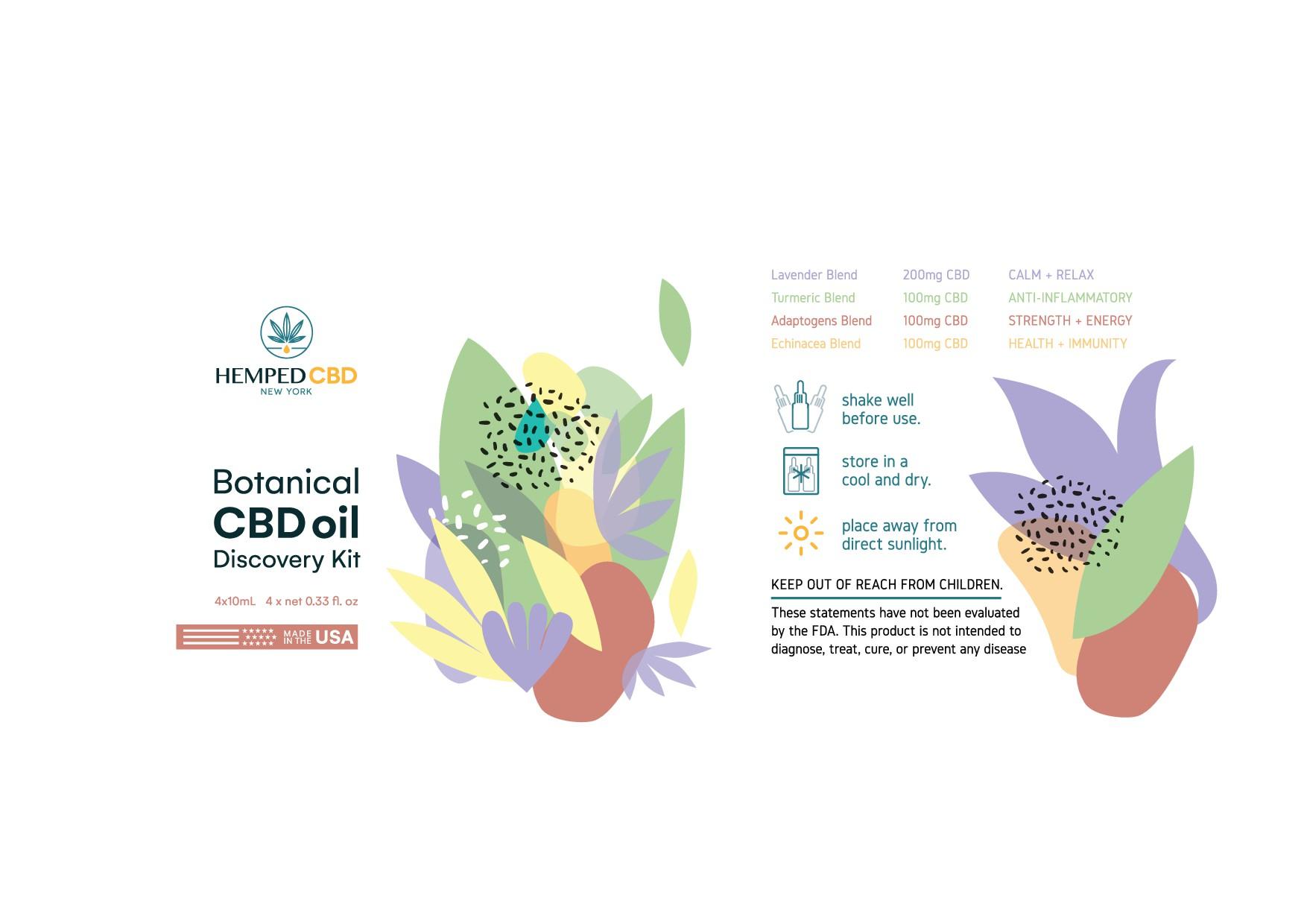 CBD brand needs a modern and creative packaging design