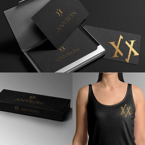 luxury logo concept for new clothing brand