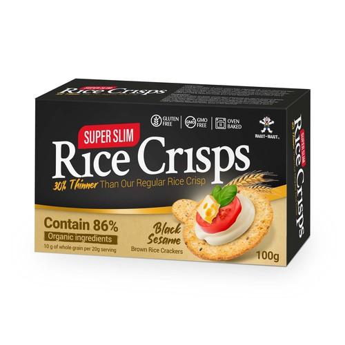 Rice Crisp Packaging Design