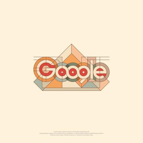 Google art logo