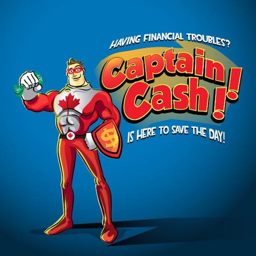 captain cash mascot
