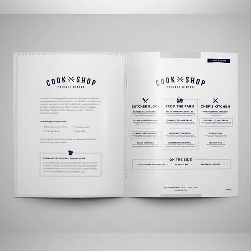 Brochure for CookShop