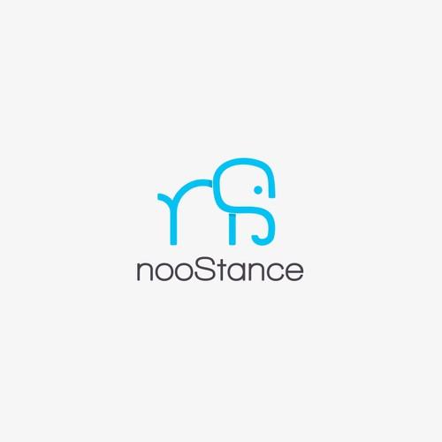 Simple logo concept for nooStance