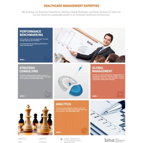 website design for Bolh Management Advisors LLC
