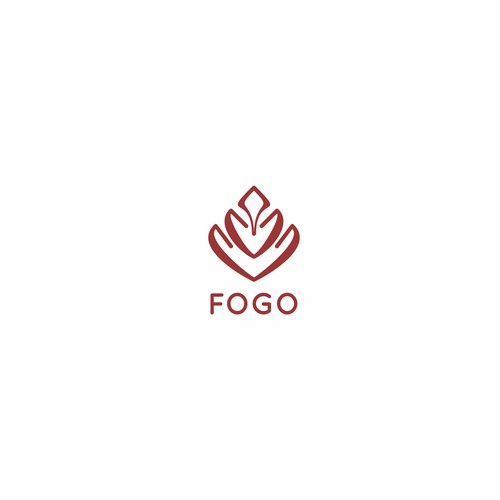 Create a logo for a line of medical smoking devices (Glass pipes). FOGO