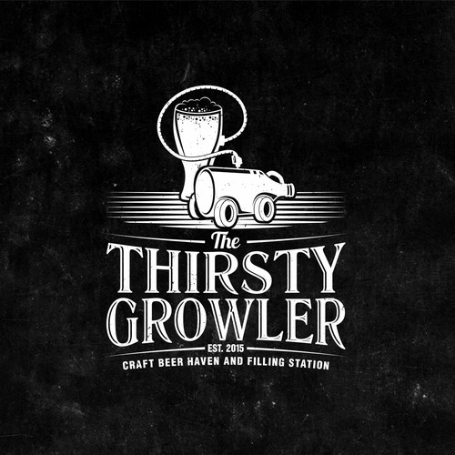 THIRSTY GROWLER