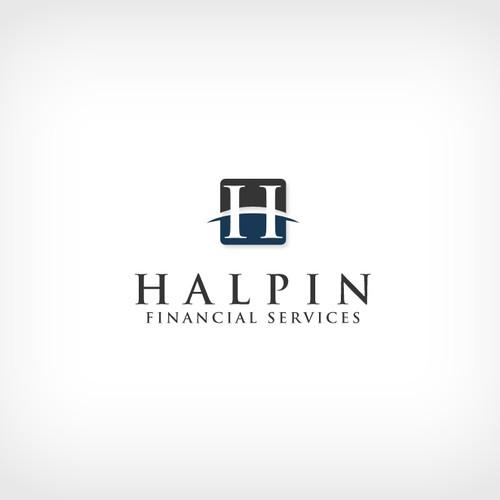 Logo concept for Halpin Financial.