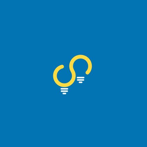 Innovative logo for agency