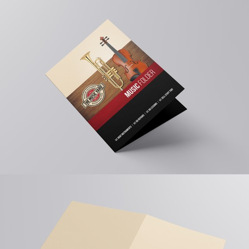 Come up with a killer design for a folder that will be seen by thousands