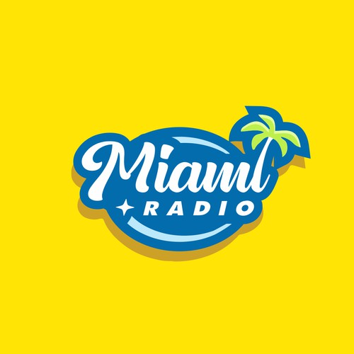 Logo concept for radio