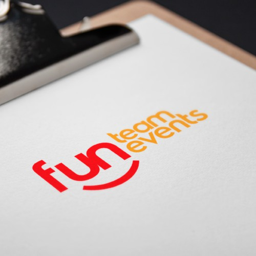 Logo for the Fun Team Events company