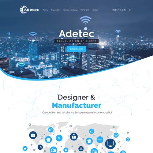 Create a theme for an innovative company