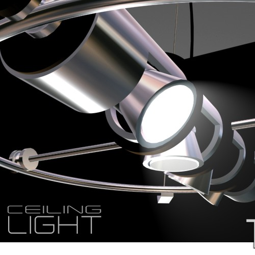 Ceiling light - product design