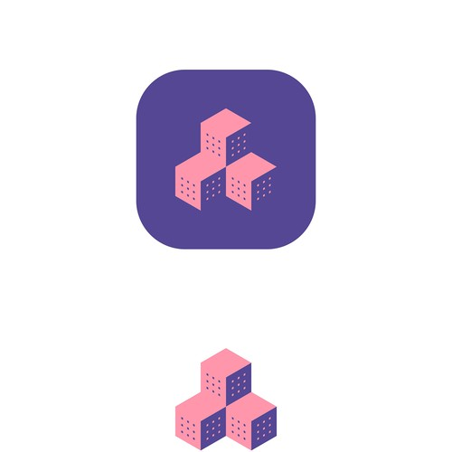 Logo design for mobile app that lets you chat with other neighbors in your building