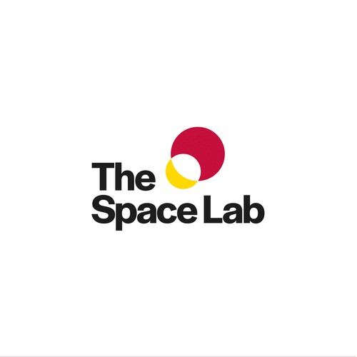 Minimal iconic logo for a lab that analyses meteorites