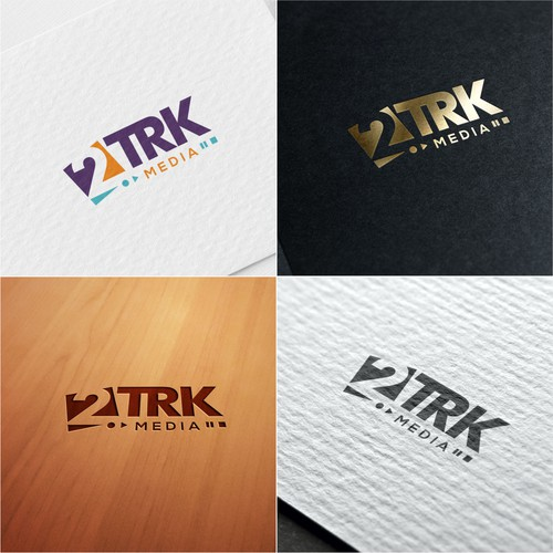 Logo concept for 2TRK Media