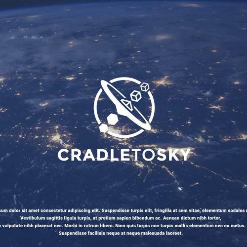 logo concept for cradle to sky