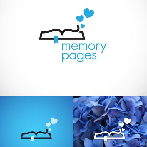 Logo concept for Memory pages