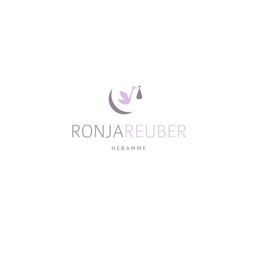 Logo für eine Hebamme