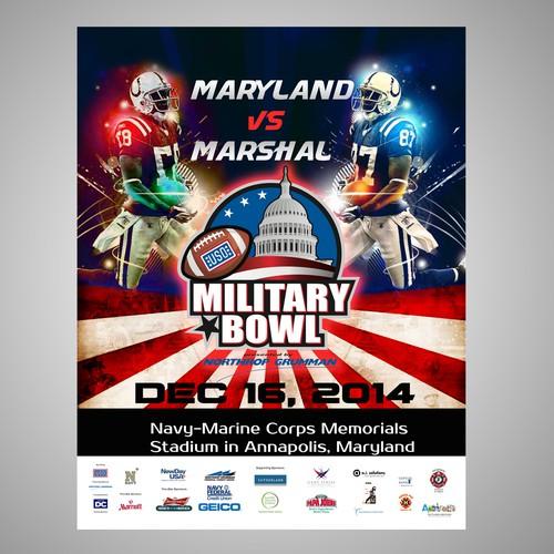 Football & Heroes- Revamp the Military Bowl Look