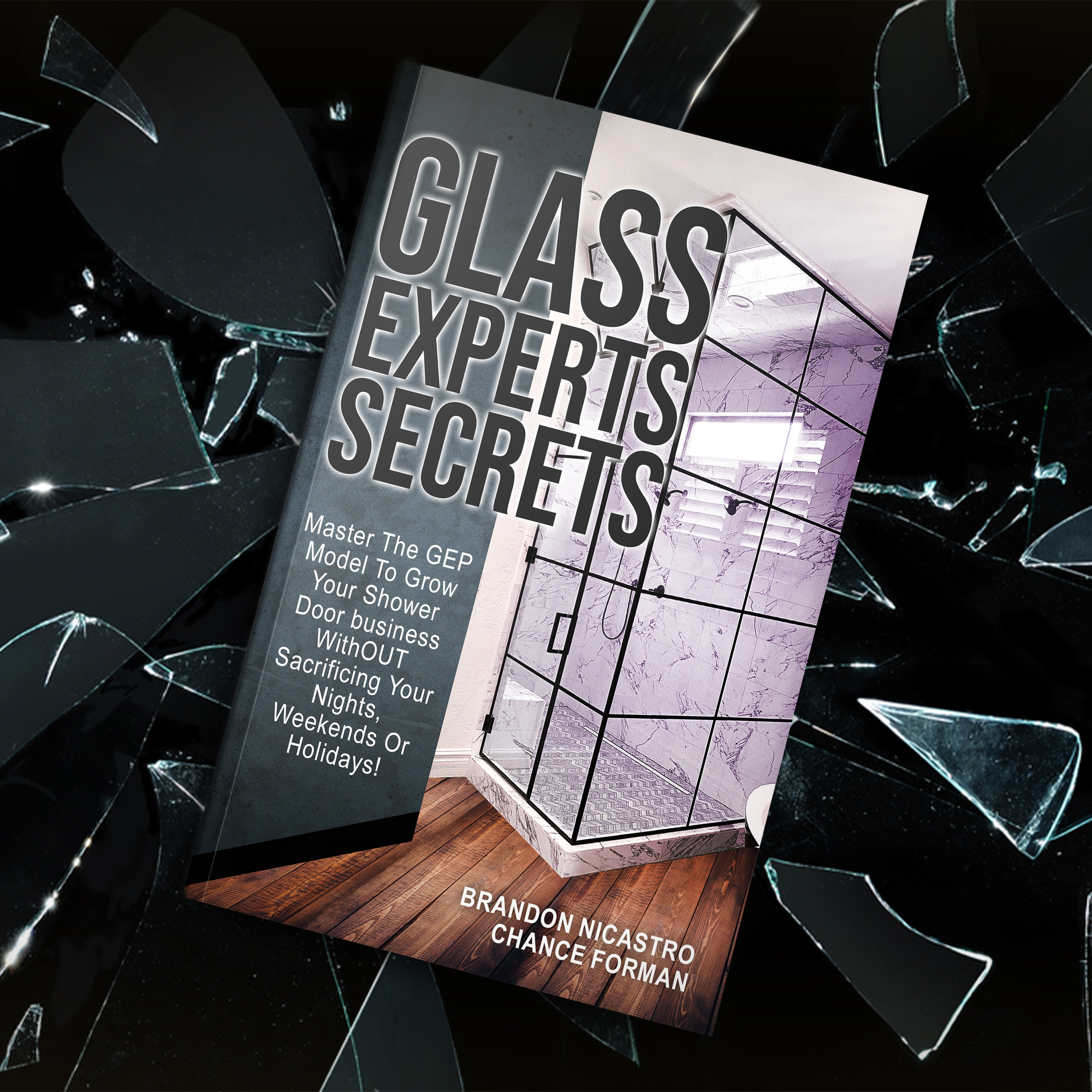 Book Cover For Glass Business   Guaranteed Project!