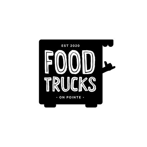 Fun Logo Design for Food Truck Mall