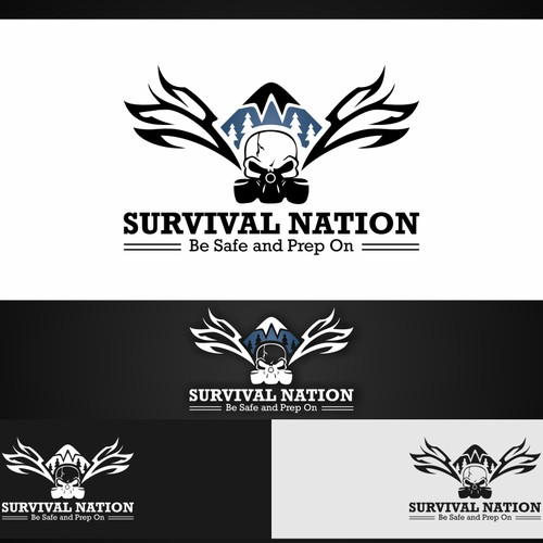 Survival Nation Logo - Guaranteed