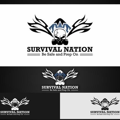 Survival Nation Logo - Guaranteed