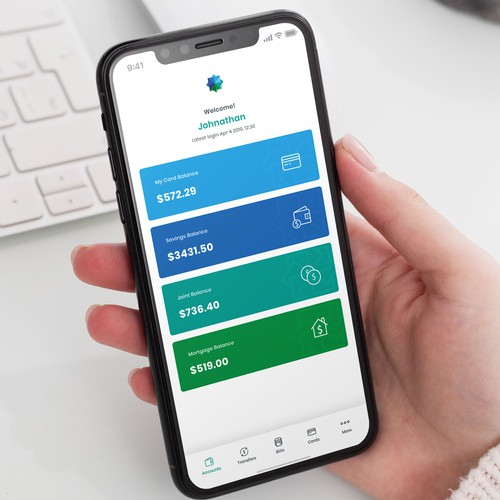 Wealth Ethical Mobile App Design